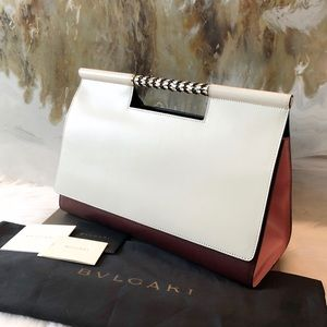 Bvlgari Serpenti Scaglie Day Tri Color Handle Bag